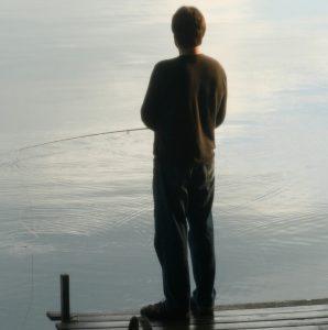 Eric, fishing