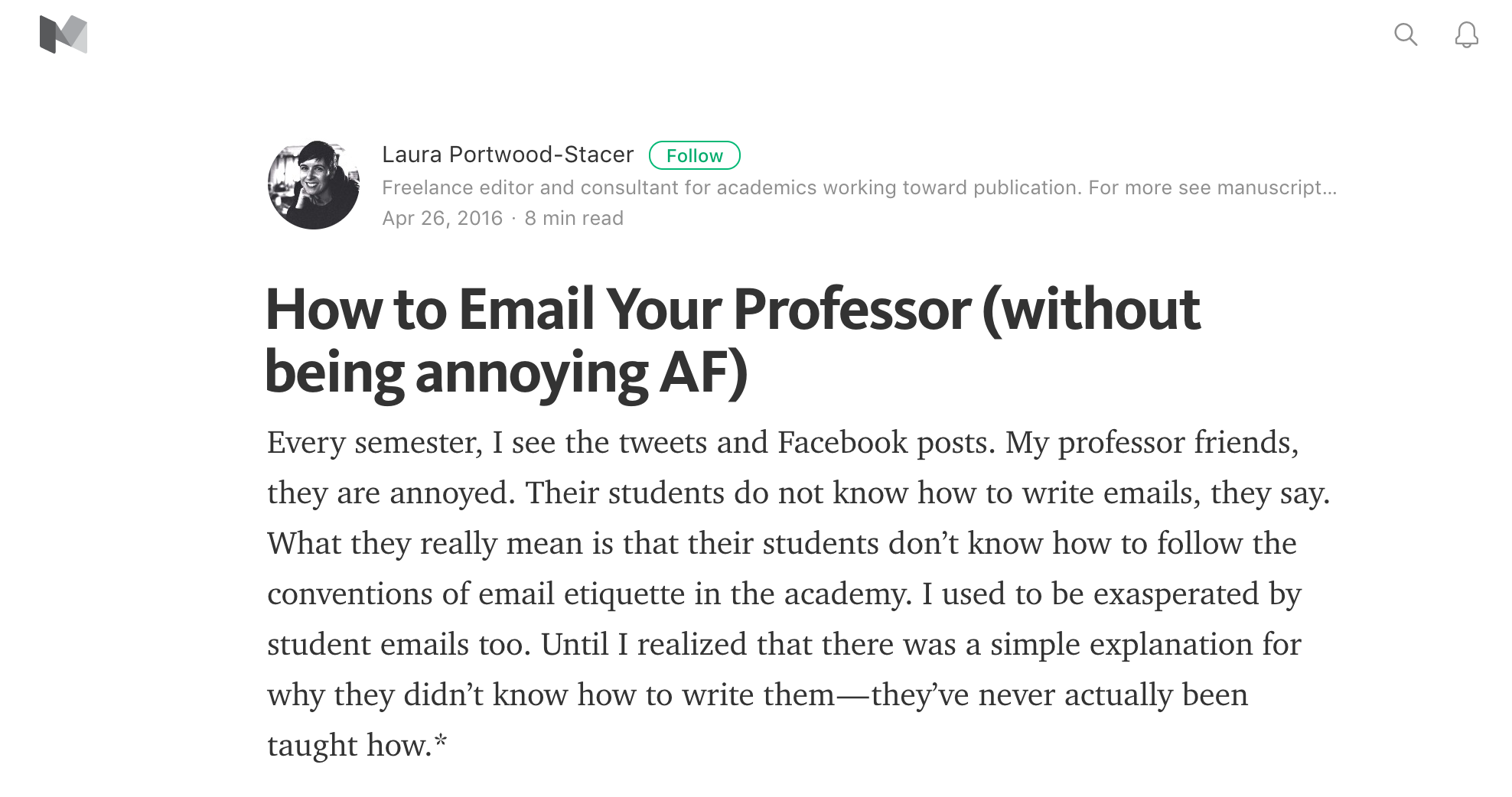 How to Write an Email to Professors